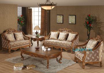 Классическая мебель из массива красного дерева