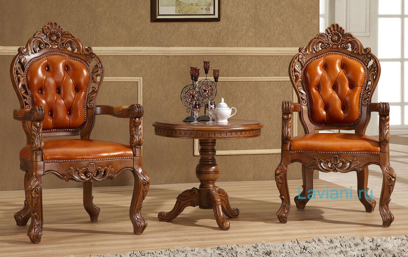 Комплект мебели из массива дуба seba seba-13+tet-8 (для гост.